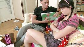 دانش آموز جوان سارا لووو با معلم خود در کلاس عکس از سکس خشن لعنتی می شود